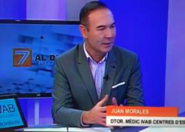 ENTREVISTA AL DR. MORALES EN INFORMATIVOS DE TV. FORMACIÓN QUE DEBEN DE TENER LAS ESTETICISTAS PARA EJERCER