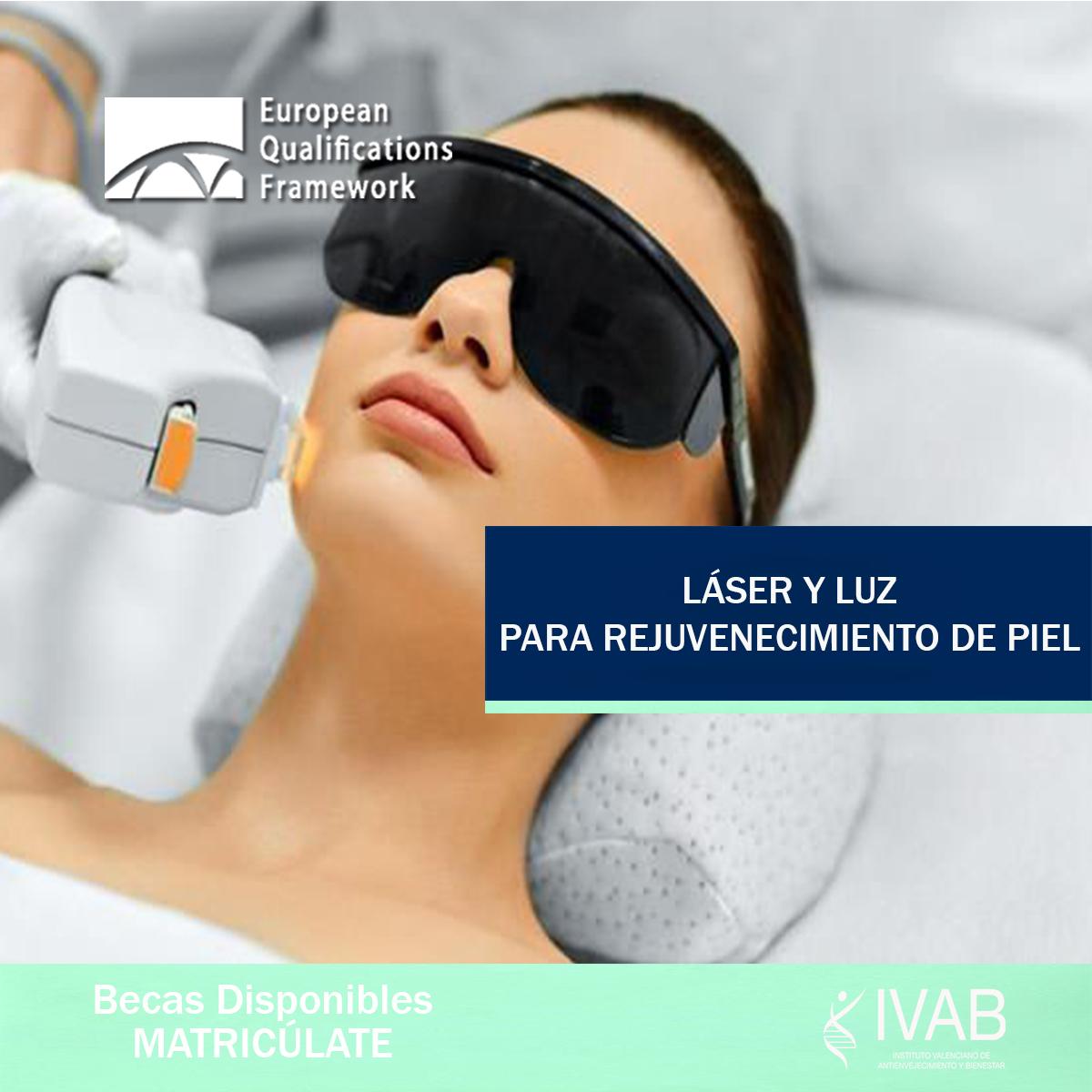 Cualificación Profesional Láser y Luz para rejuvenecimiento de piel